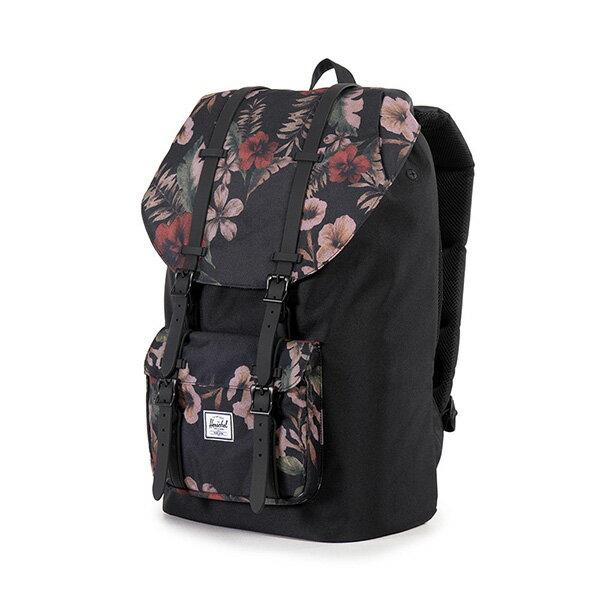 【EST】HERSCHEL LITTLE AMERICA 15吋電腦包 後背包 花卉 [HS-0014-910] G0122 2