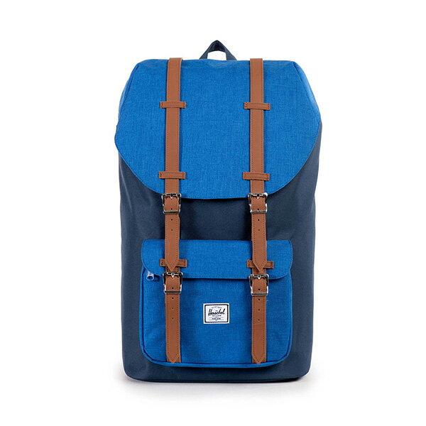 【EST】HERSCHEL LITTLE AMERICA 15吋電腦包 後背包 藍 [HS-0014-913] G0122 0