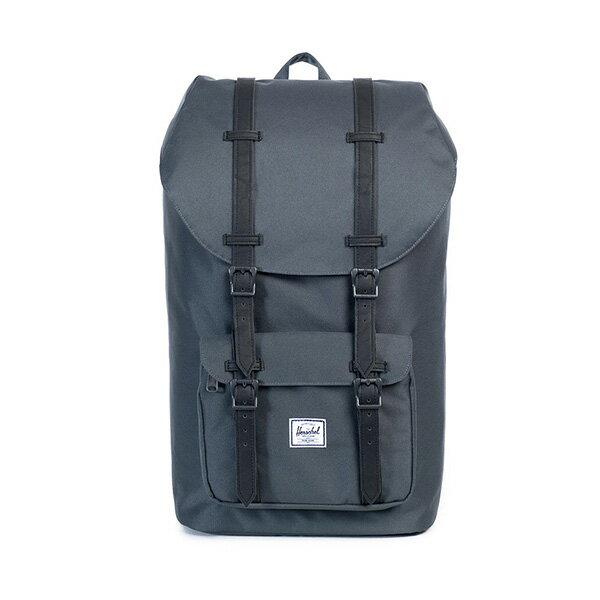 【EST】HERSCHEL LITTLE AMERICA 15吋電腦包 後背包 黑灰 [HS-0014-920] G0122 0