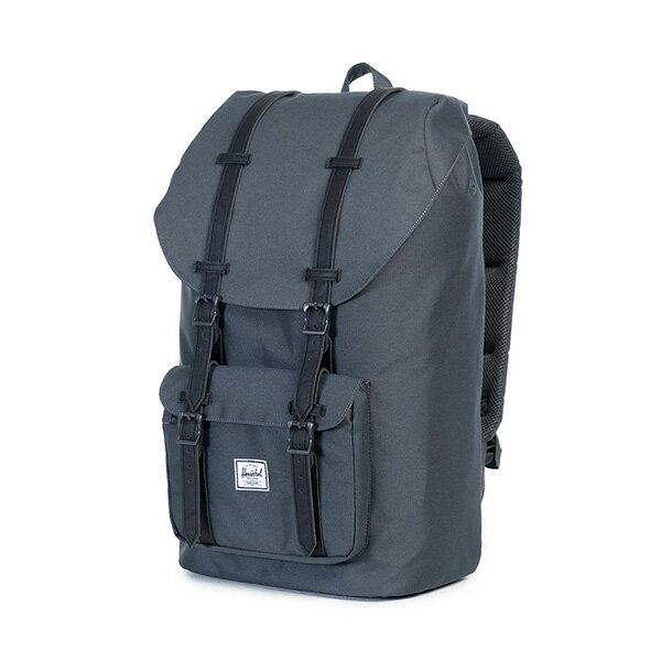 【EST】HERSCHEL LITTLE AMERICA 15吋電腦包 後背包 黑灰 [HS-0014-920] G0122 2