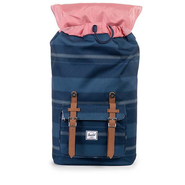 【EST】HERSCHEL LITTLE AMERICA 15吋電腦包 後背包 條紋 藍 [HS-0014-925] G0122 1