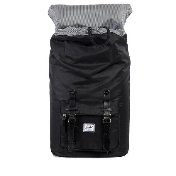 【EST】HERSCHEL LITTLE AMERICA 15吋電腦包 後背包 皮帶 尼龍 黑 [HS-0014-949] G0122 1