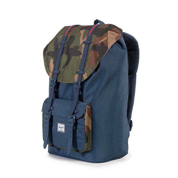 【EST】HERSCHEL LITTLE AMERICA 15吋電腦包 後背包 拼接 迷彩 藍 [HS-0014-965] G0706 2