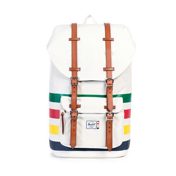 【EST】HERSCHEL LITTLE AMERICA 15吋電腦包 後背包 條紋 彩色 [HS-0014-989] G0122 0