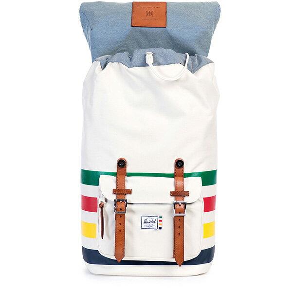 【EST】HERSCHEL LITTLE AMERICA 15吋電腦包 後背包 條紋 彩色 [HS-0014-989] G0122 1