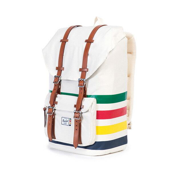 【EST】HERSCHEL LITTLE AMERICA 15吋電腦包 後背包 條紋 彩色 [HS-0014-989] G0122 2