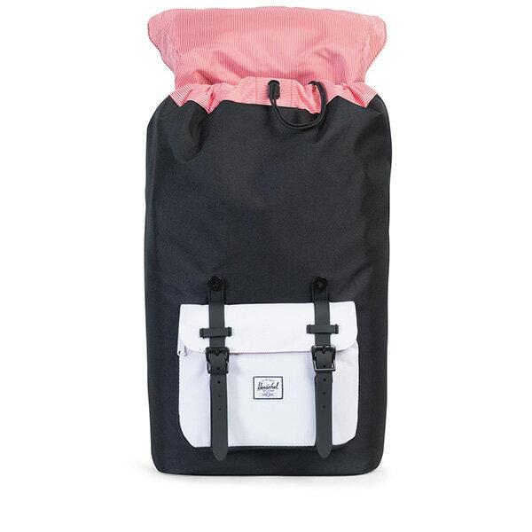 【EST】HERSCHEL LITTLE AMERICA 15吋電腦包 後背包 黑白 [HS-0014-B49] G0801 1