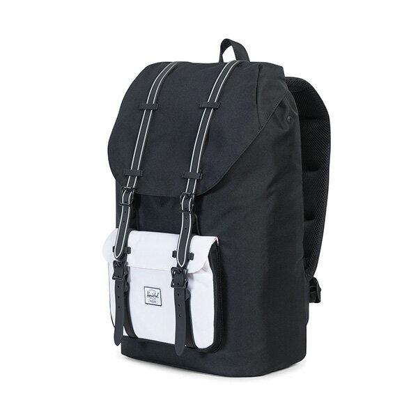 【EST】HERSCHEL LITTLE AMERICA 15吋電腦包 後背包 黑白 [HS-0014-B49] G0801 2