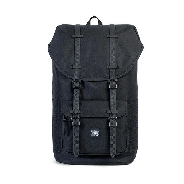 【EST】HERSCHEL LITTLE AMERICA 15吋電腦包 後背包 網布 黑 [HS-0014-B68] G0801 0