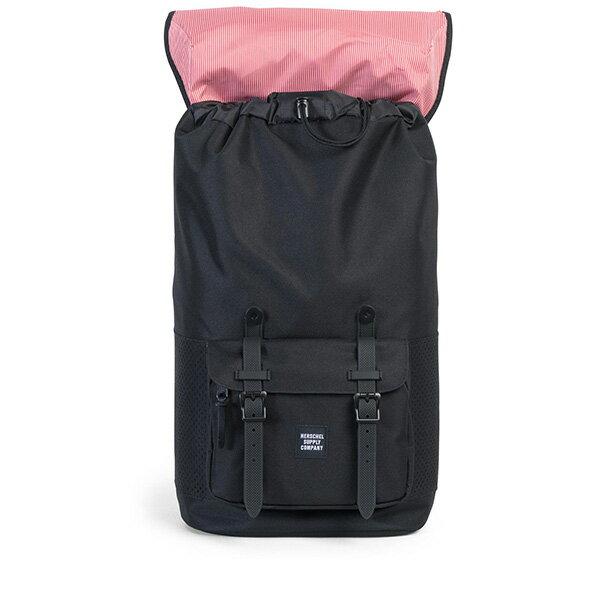 【EST】HERSCHEL LITTLE AMERICA 15吋電腦包 後背包 網布 黑 [HS-0014-B68] G0801 1