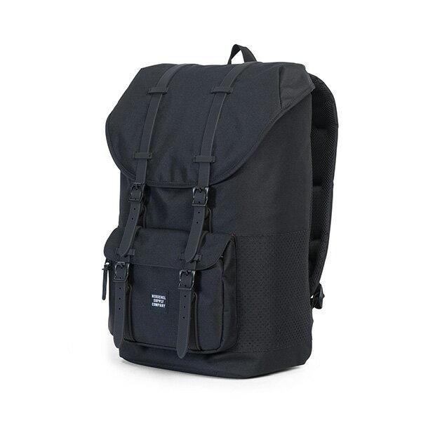 【EST】HERSCHEL LITTLE AMERICA 15吋電腦包 後背包 網布 黑 [HS-0014-B68] G0801 2