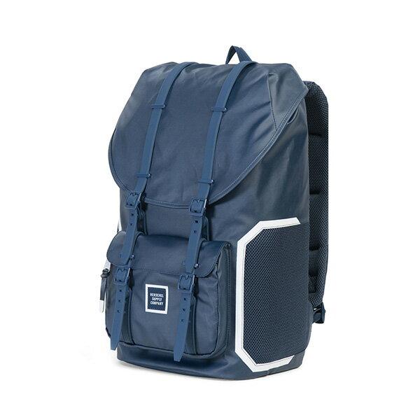 【EST】Herschel Little America 15吋電腦包 後背包 防水 尼龍 網布 藍 [HS-0014-B93] G0801 2