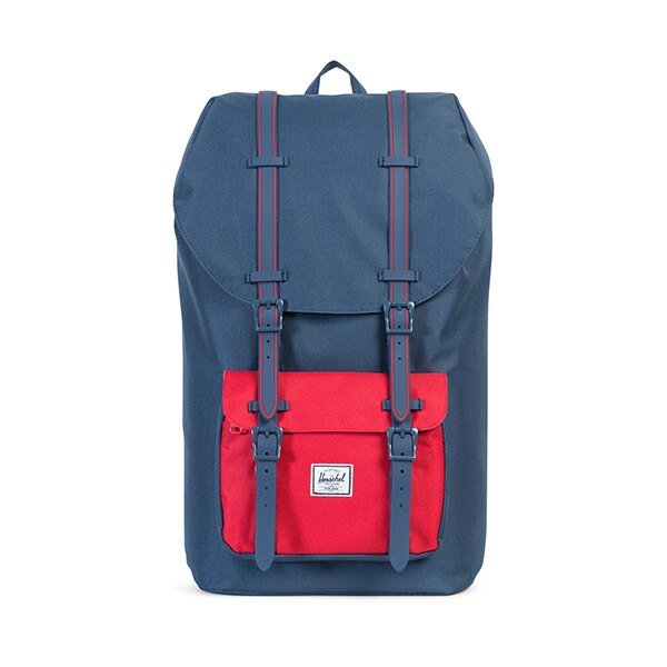 【EST】HERSCHEL LITTLE AMERICA 15吋電腦包 後背包 藍紅 [HS-0014-C20] G0801 0