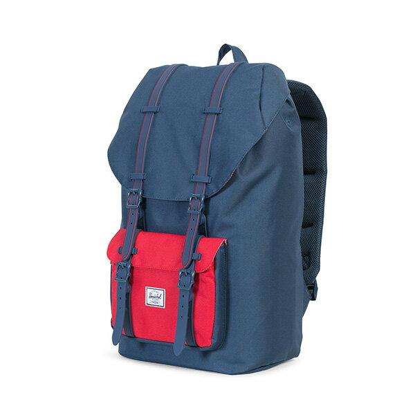 【EST】HERSCHEL LITTLE AMERICA 15吋電腦包 後背包 藍紅 [HS-0014-C20] G0801 2