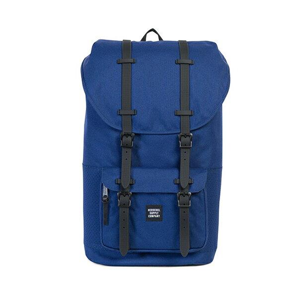 【EST】HERSCHEL LITTLE AMERICA 15吋電腦包 後背包 深藍 膠條 [HS-0014-C33] G1012 0