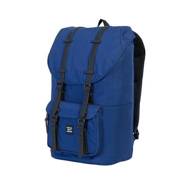 【EST】HERSCHEL LITTLE AMERICA 15吋電腦包 後背包 深藍 膠條 [HS-0014-C33] G1012 2