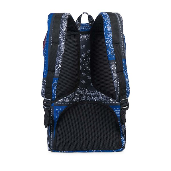【EST】Herschel Little America 15吋電腦包 後背包 藍/黑變形蟲 [HS-0014-C50] G1012 3
