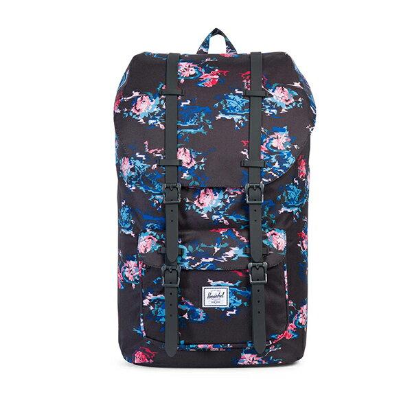【EST】HERSCHEL LITTLE AMERICA 15吋電腦包 後背包 迷幻印花 [HS-0014-C62] G1012 0