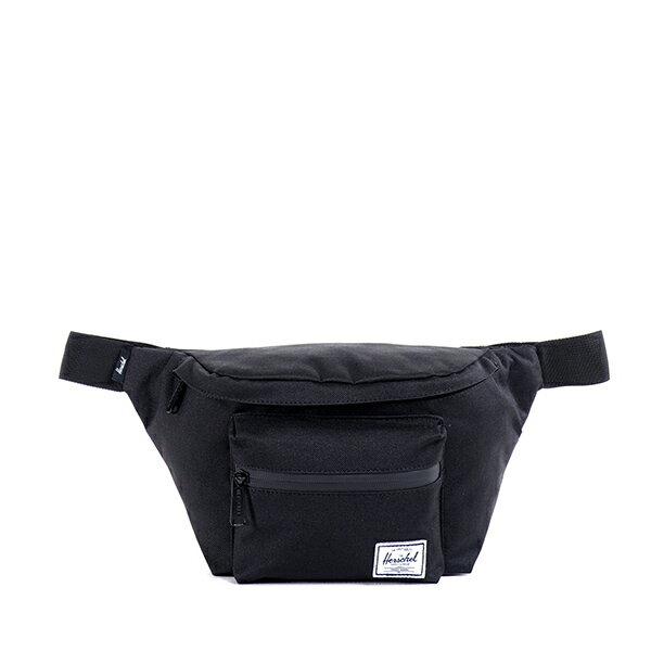 【EST】HERSCHEL SEVENTEEN 斜背包 胸包 掛腰包 黑 [HS-0017-165] G1012