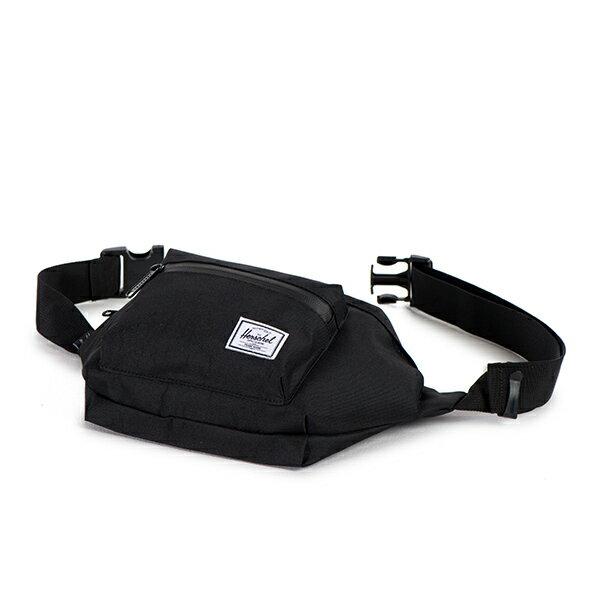 【EST】HERSCHEL SEVENTEEN 斜背包 胸包 掛腰包 黑 [HS-0017-165] G1012 2