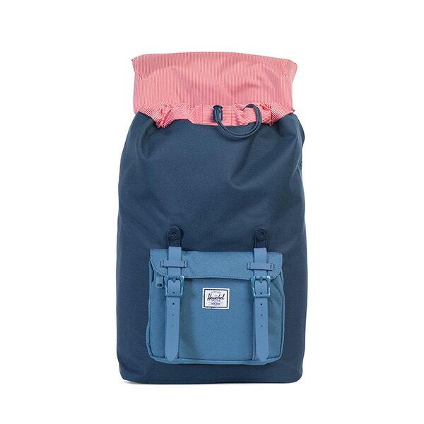 【EST】HERSCHEL LITTLE AMERICA MID 中款 13吋電腦包 後背包 拼色 藍 [HS-0020-A58] G0414 1