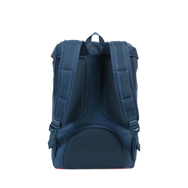 【EST】HERSCHEL LITTLE AMERICA MID 中款 13吋電腦包 後背包 紅印 藍 [HS-0020-B52] G0801 3