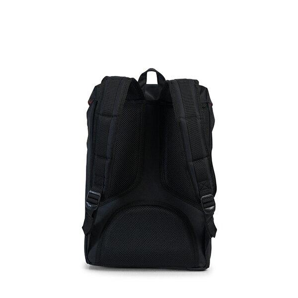 【EST】Herschel Little America Mid 中款 13吋電腦包 後背包 黑/玳瑁 [HS-0020-C46] G1012 3