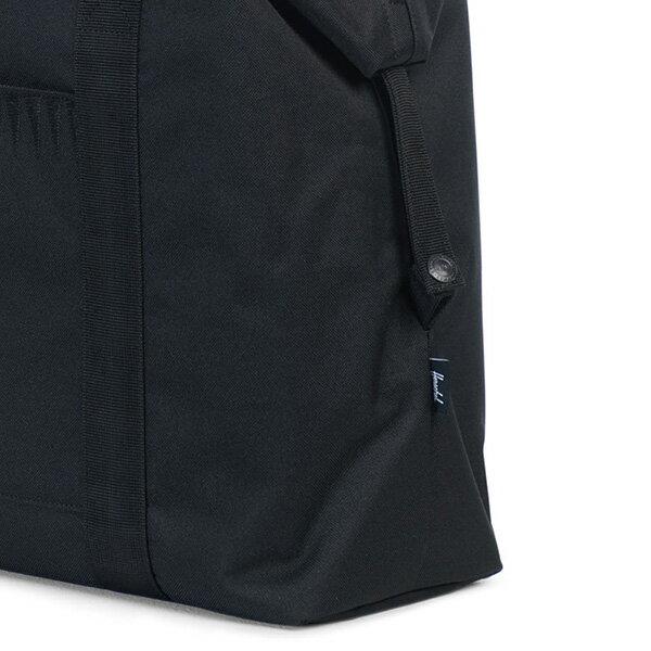 【EST】HERSCHEL STRAND 側背包 肩背包 ROSWELL系列 刺繡 黑 [HS-0022-A43] G0414 3
