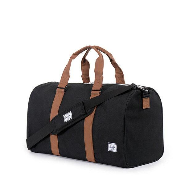 【EST】Herschel Ravine 圓筒 手提袋 旅行包 黑 [HS-0025-001] G0122 1