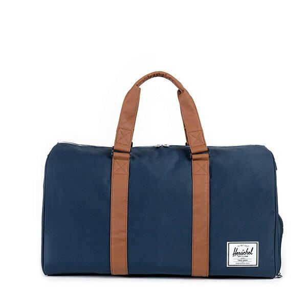 【EST】HERSCHEL RAVINE 圓筒 手提袋 旅行包 藍 [HS-0025-007] G0122 0