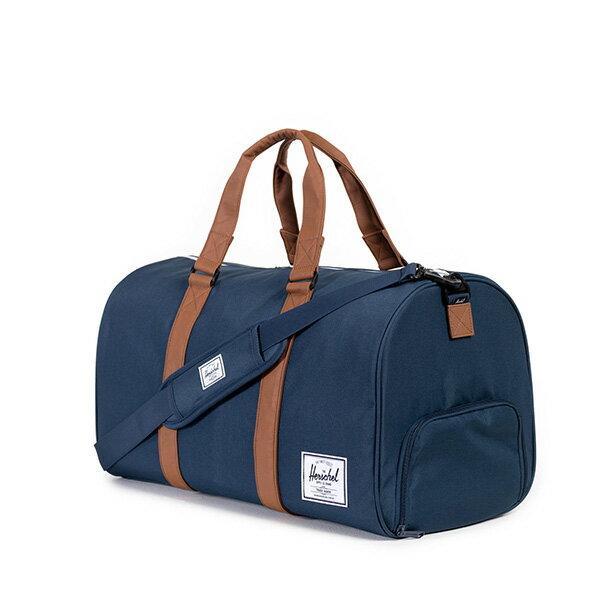 【EST】HERSCHEL RAVINE 圓筒 手提袋 旅行包 藍 [HS-0025-007] G0122 1