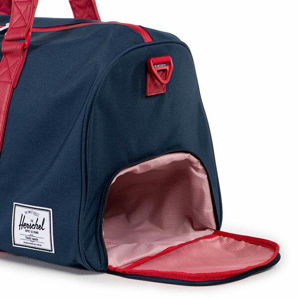【EST】HERSCHEL NOVEL 圓筒 多功能 鞋箱 手提袋 旅行包 藍紅 [HS-0026-018] F1019 2