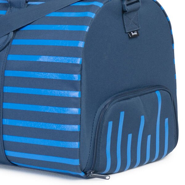 【EST】Herschel Novel 圓筒 多功能 鞋箱 手提袋 旅行包 Offset系列 條紋 藍 [HS-0026-A42] G0414 3