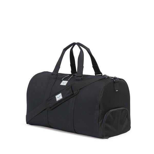 【EST】HERSCHEL NOVEL 圓筒 多功能 鞋箱 手提袋 旅行包 ROSWELL系列 刺繡 黑 [HS-0026-A43] G0414 1