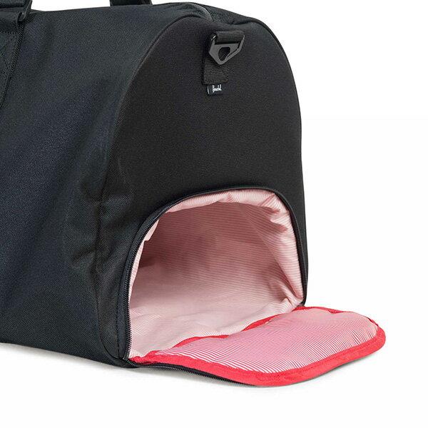 【EST】HERSCHEL NOVEL 圓筒 多功能 鞋箱 手提袋 旅行包 ROSWELL系列 刺繡 黑 [HS-0026-A43] G0414 2