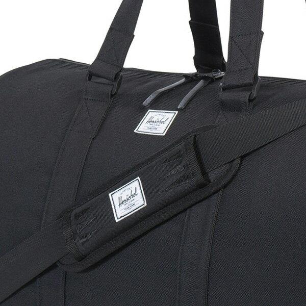 【EST】HERSCHEL NOVEL 圓筒 多功能 鞋箱 手提袋 旅行包 ROSWELL系列 刺繡 黑 [HS-0026-A43] G0414 3