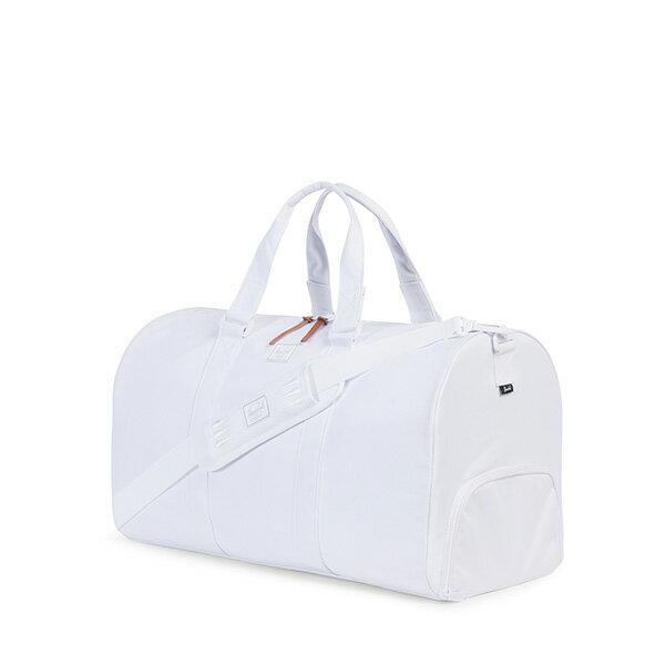 【EST】HERSCHEL NOVEL 圓筒 多功能 鞋箱 手提袋 旅行包 ROSWELL系列 刺繡 白 [HS-0026-A44] G0414 1