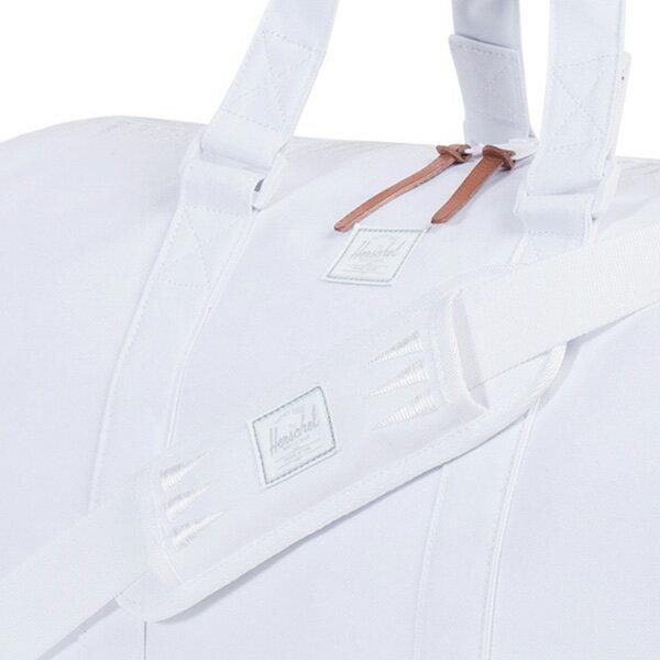 【EST】HERSCHEL NOVEL 圓筒 多功能 鞋箱 手提袋 旅行包 ROSWELL系列 刺繡 白 [HS-0026-A44] G0414 3