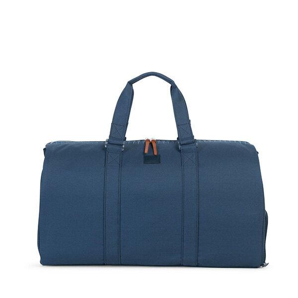 【EST】HERSCHEL NOVEL 圓筒 多功能 鞋箱 手提袋 旅行包 ROSWELL系列 刺繡 深藍 [HS-0026-A45] G0414 0