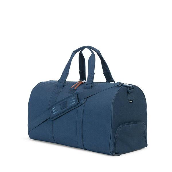【EST】HERSCHEL NOVEL 圓筒 多功能 鞋箱 手提袋 旅行包 ROSWELL系列 刺繡 深藍 [HS-0026-A45] G0414 1