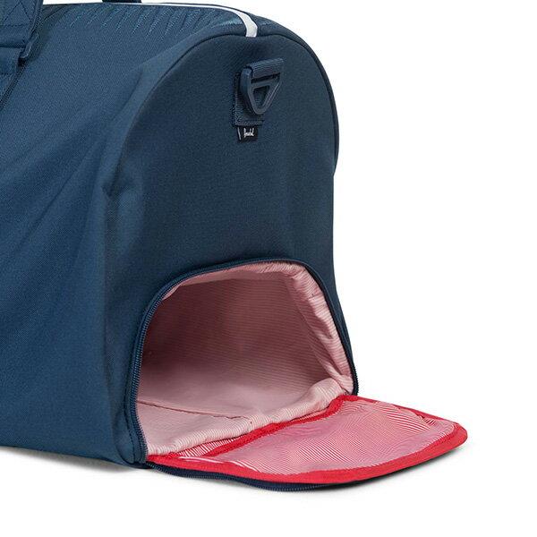 【EST】HERSCHEL NOVEL 圓筒 多功能 鞋箱 手提袋 旅行包 ROSWELL系列 刺繡 深藍 [HS-0026-A45] G0414 2