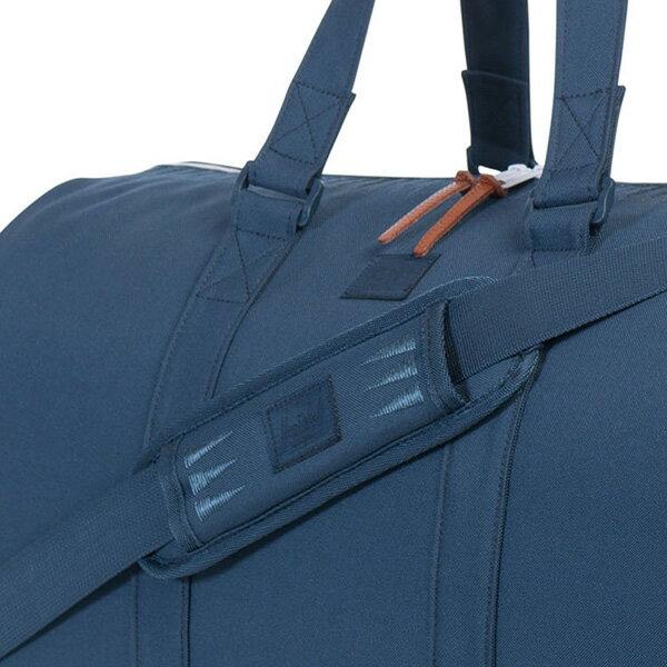 【EST】HERSCHEL NOVEL 圓筒 多功能 鞋箱 手提袋 旅行包 ROSWELL系列 刺繡 深藍 [HS-0026-A45] G0414 3