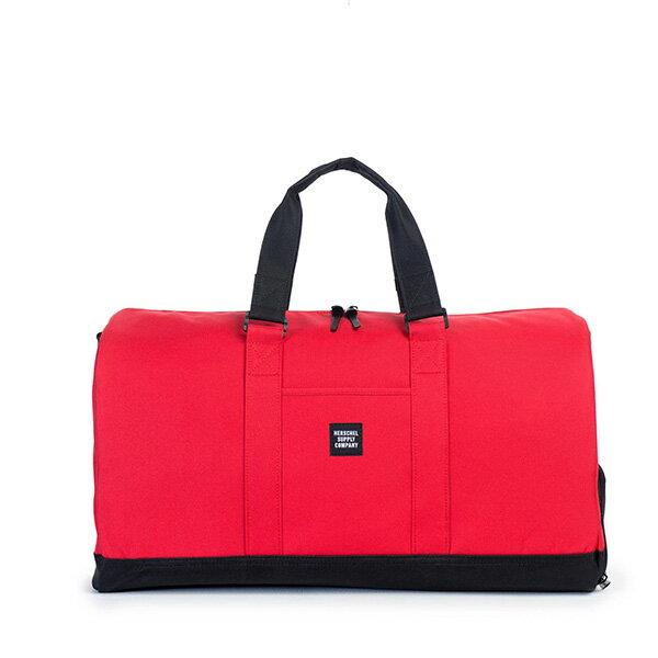 【EST】Herschel Novel 圓筒 多功能 鞋箱 手提袋 旅行包 紅 [HS-0026-900] G0122 0