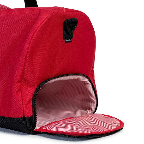 【EST】Herschel Novel 圓筒 多功能 鞋箱 手提袋 旅行包 紅 [HS-0026-900] G0122 2