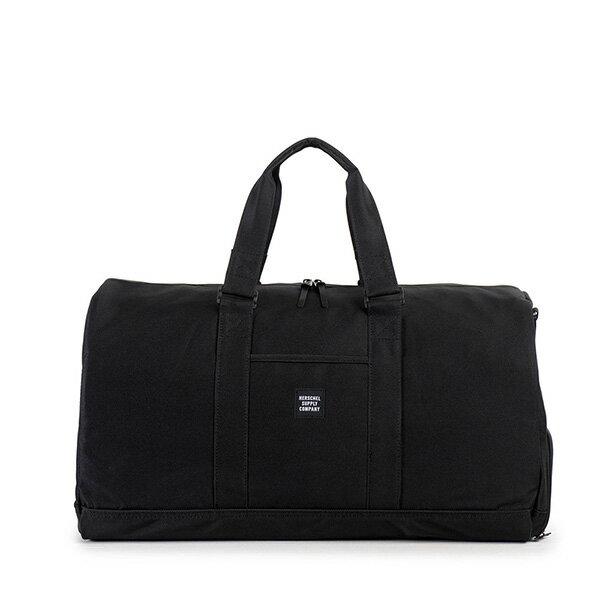 【EST】Herschel Novel 圓筒 多功能 鞋箱 手提袋 旅行包 黑 [HS-0026-901] G0122 0