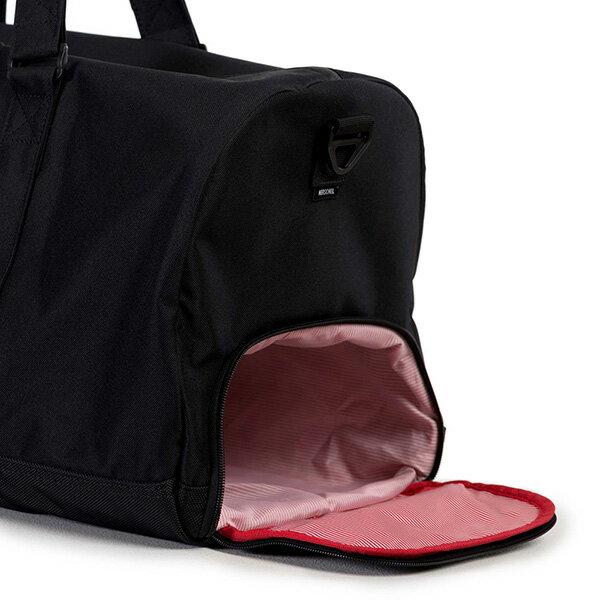 【EST】Herschel Novel 圓筒 多功能 鞋箱 手提袋 旅行包 黑 [HS-0026-901] G0122 2