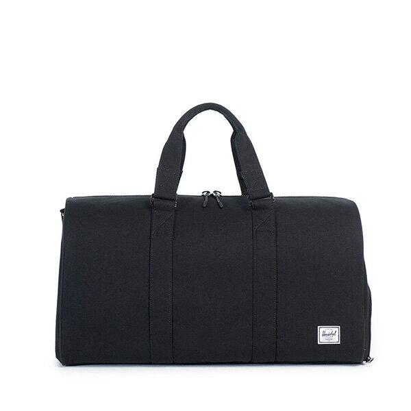 【EST】HERSCHEL NOVEL 圓筒 多功能 鞋箱 手提袋 旅行包 帆布 黑 [HS-0026-907] G0122 0