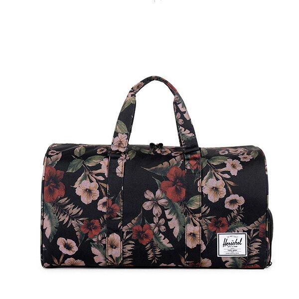 【EST】HERSCHEL NOVEL 圓筒 多功能 鞋箱 手提袋 旅行包 花卉 [HS-0026-910] G0122 0