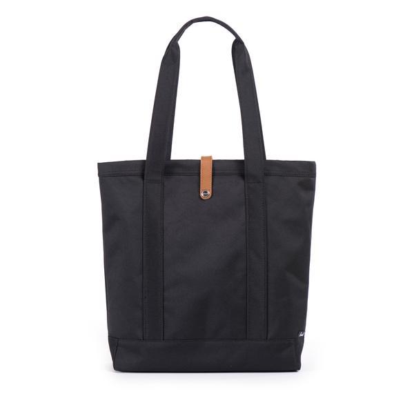 【EST】HERSCHEL MARKET 磁扣帶 托特包 購物袋 側背包 肩背包 黑 [HS-0029-001] G0414 2