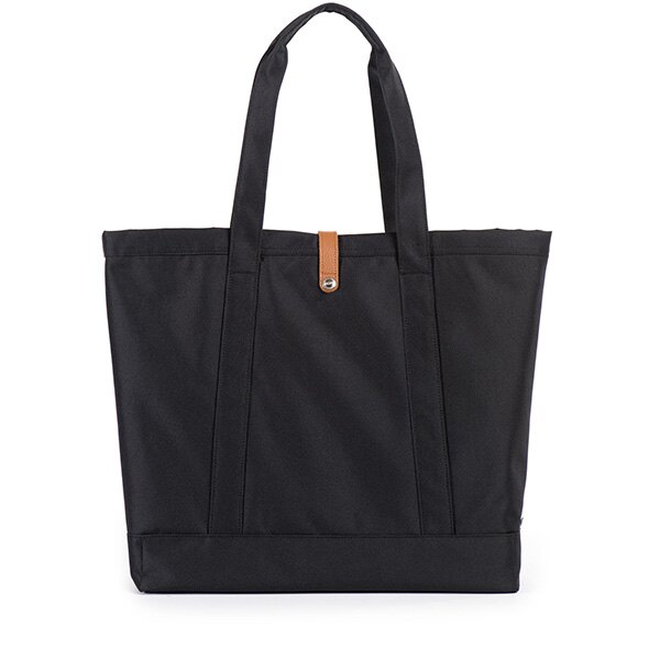 【EST】Herschel Market Xl 磁扣帶 托特包 購物袋 側背包 肩背包 全黑 [HS-0030-001] G0414 2